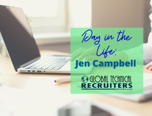 GTR Day In The Life: Jen Campbell