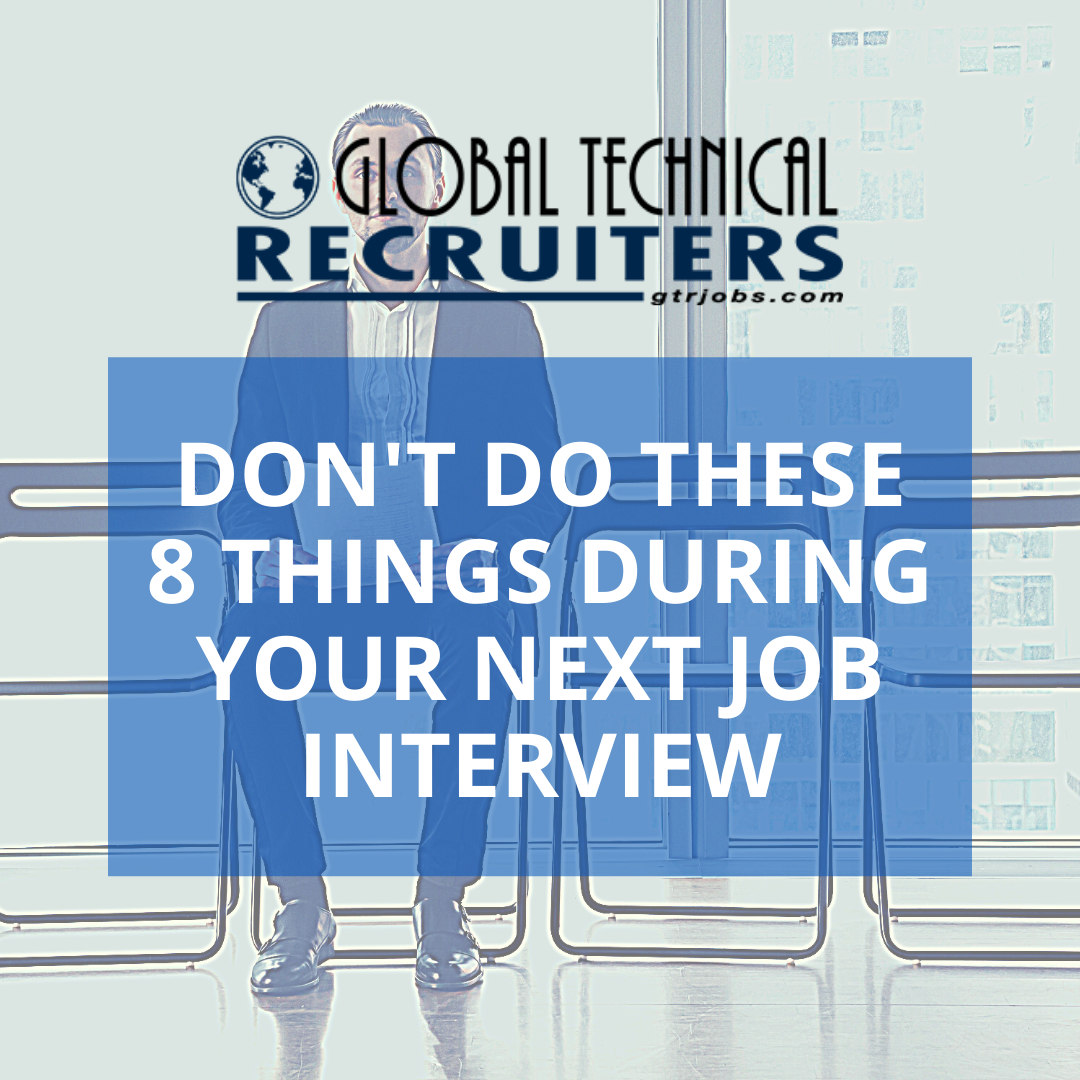 dont do these 8 things during your next job interview